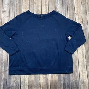Angels Forever Young anchor pullover sweatshirt
